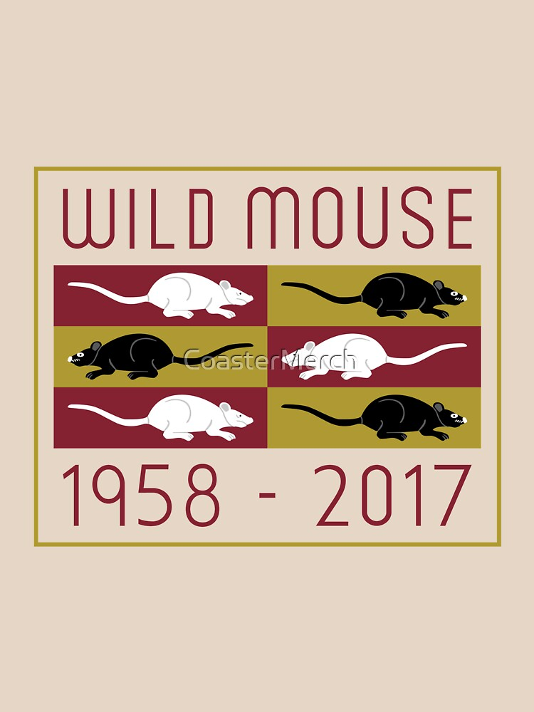 Wild Mouse at Blackpool Pleasure Beach Birth and Death by CoasterMerch