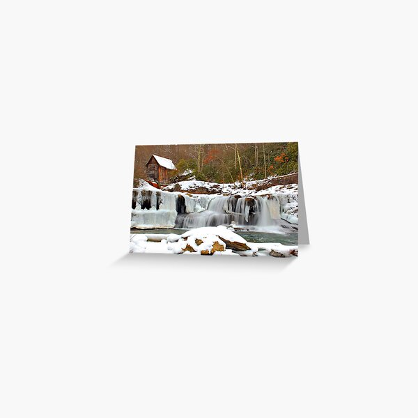 Frozen Grist Mill #2 Greeting Card