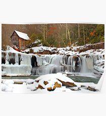 Frozen Grist Mill #2 Poster