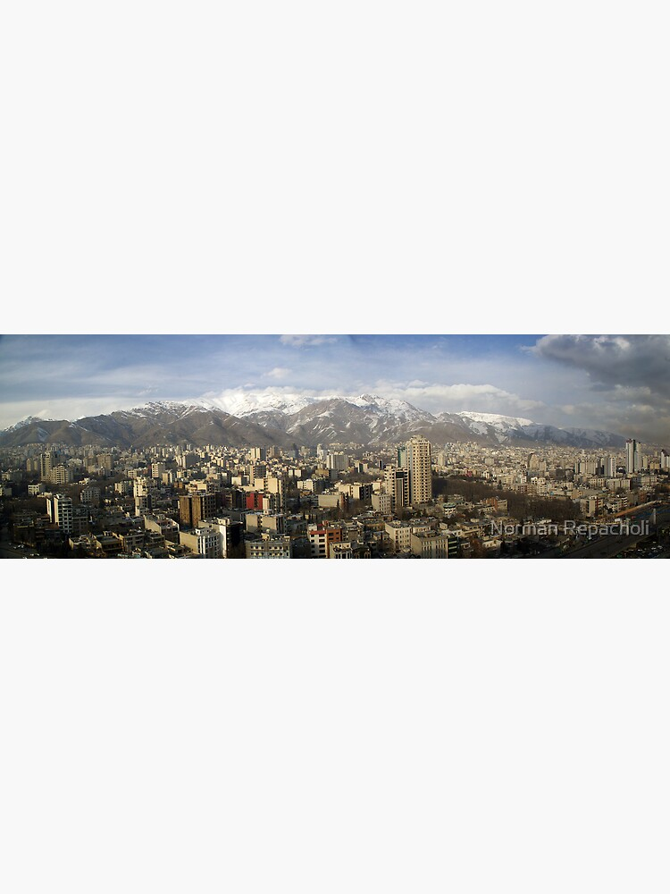 Tehran skyline by keystone