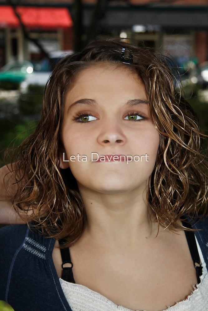 Pre-Teen Model by Leta Davenport