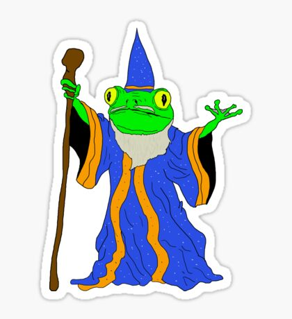 The Wizard of the Pond.  Sticker