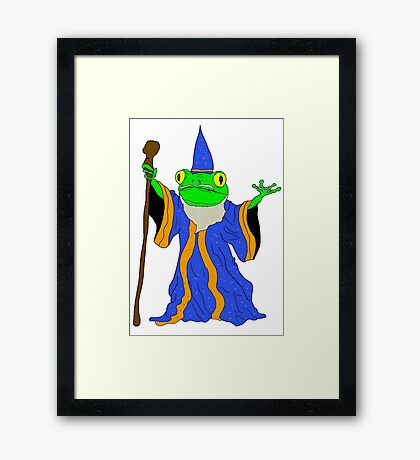 The Wizard of the Pond.  Framed Print