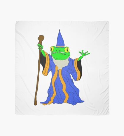 The Wizard of the Pond.  Scarf