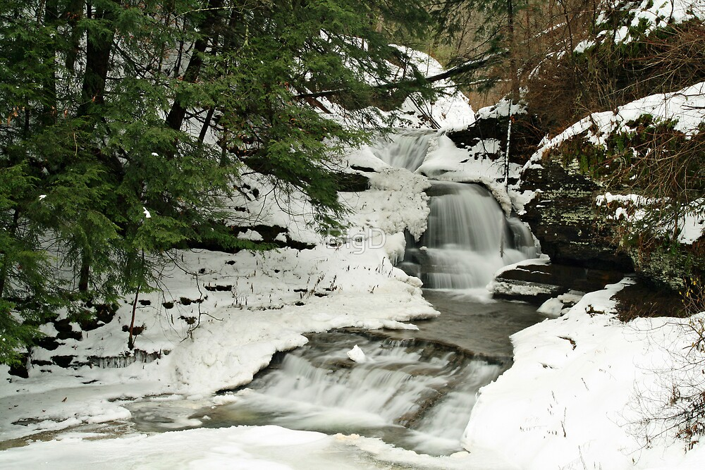White Snow, White Water by BigD