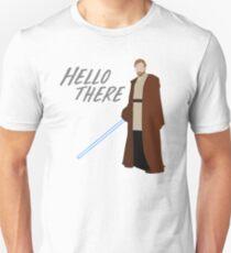 Obi Wan Kenobi - Hallo Unisex T-Shirt