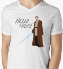 Obi Wan Kenobi - Hello There Men's V-Neck T-Shirt