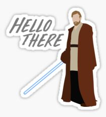 Obi Wan Kenobi - Hello There Sticker