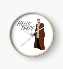 Obi Wan Kenobi - Hello There Clock