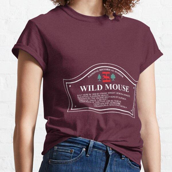 Wild Mouse - Blackpool Pleasure Beach - Historical Marker Classic T-Shirt