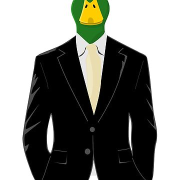 Duck in Business Suit by pda1986
