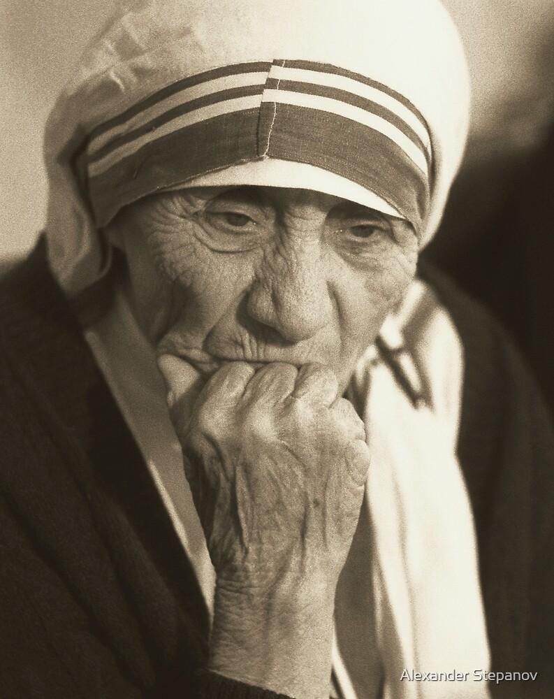 Mother Teresa  by Alexander Stepanov