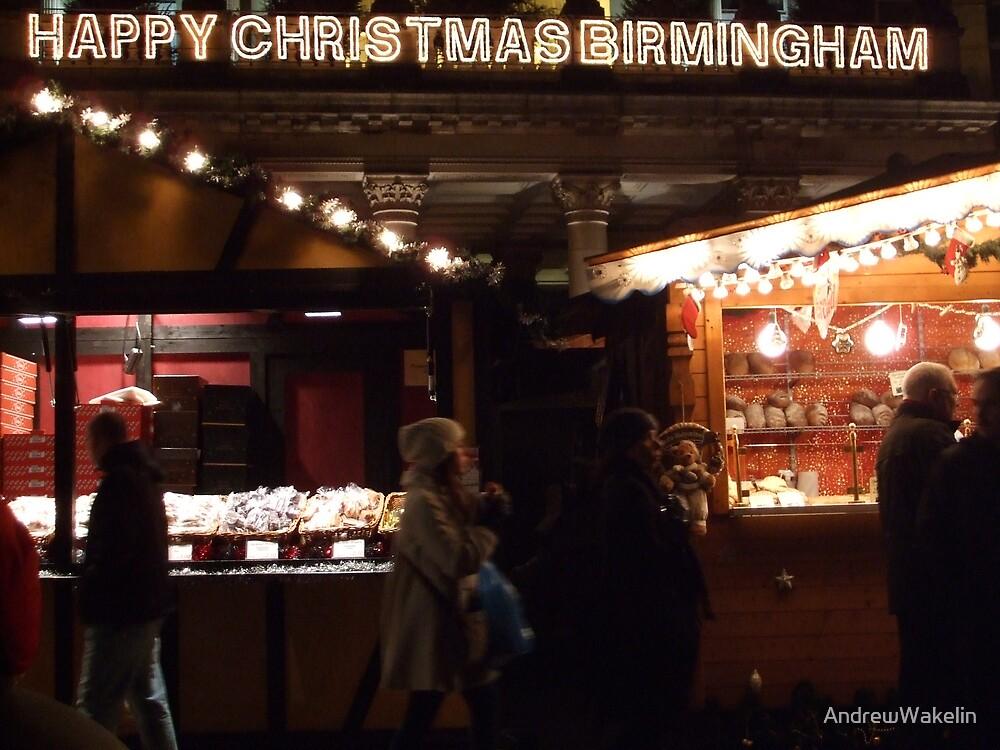 Happy Christmas Birmingham by AndrewWakelin