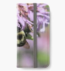 Fuzzy bumble iPhone Wallet/Case/Skin