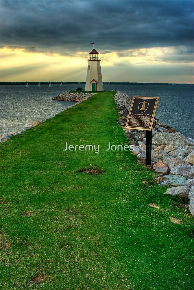 Lake Hefner Lighthouse by Jeremy  Jones