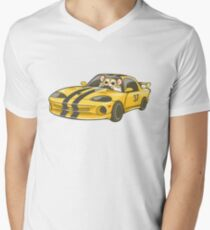 Viper Robo Hamster Men's V-Neck T-Shirt