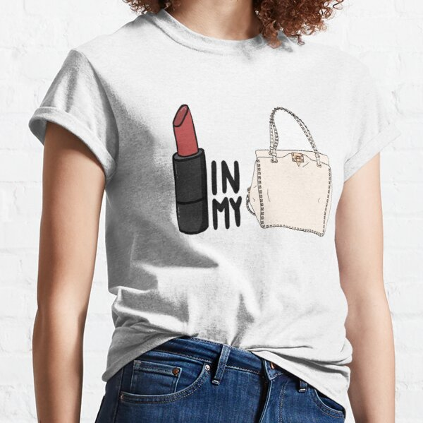 lipstick in my Valentino white bag? Classic T-Shirt