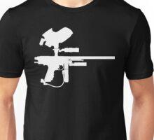 Paintball Marker Black Unisex T-Shirt