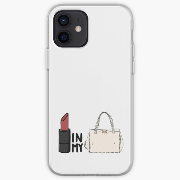 lipstick in my Valentino white bag? iPhone Soft Case