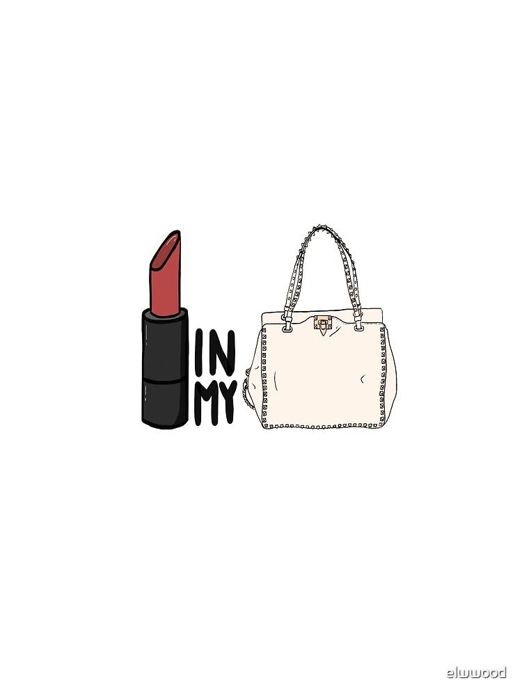 lipstick in my Valentino white bag? by elwwood
