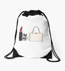 cb379fd7f2b5 lipstick in my Valentino white bag  Drawstring Bag