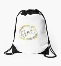 Real Drawstring Bag