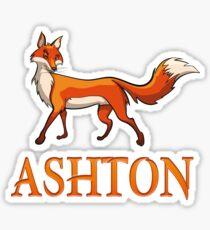 Ashton Fox Sticker