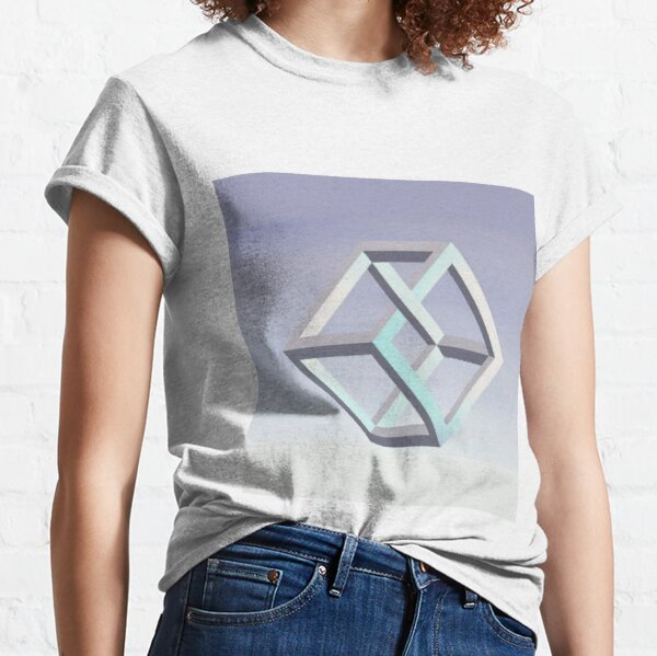 Illusion of Impossible Objects Classic T-Shirt