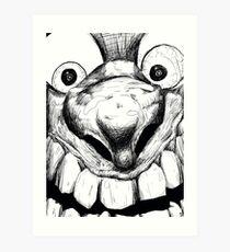 Hi! Close talker Art Print
