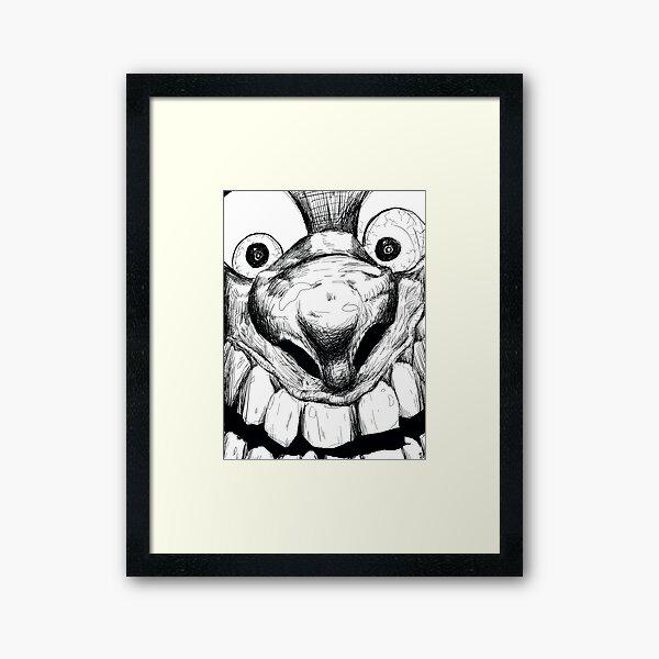Hi! Close talker Framed Art Print