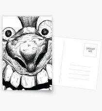 Hi! Close talker Postcards