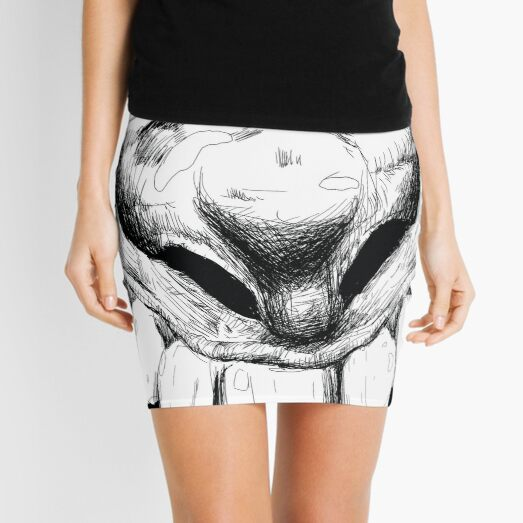 Hi! Close talker Mini Skirt