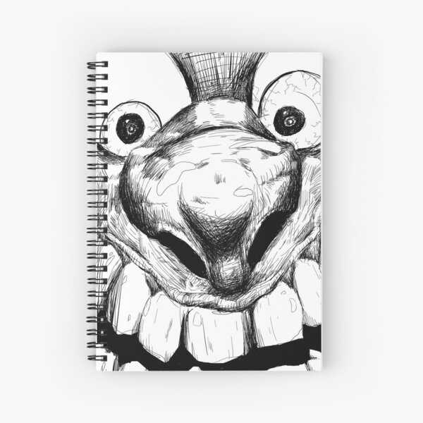Hi! Close talker Spiral Notebook