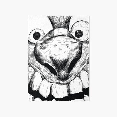 Hi! Close talker Art Board Print