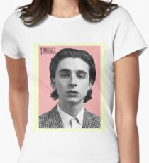 Timothee Chalamet  Women's Fitted T-Shirt