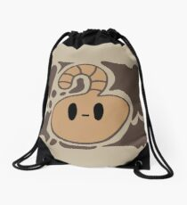 Brown Creature Drawstring Bag