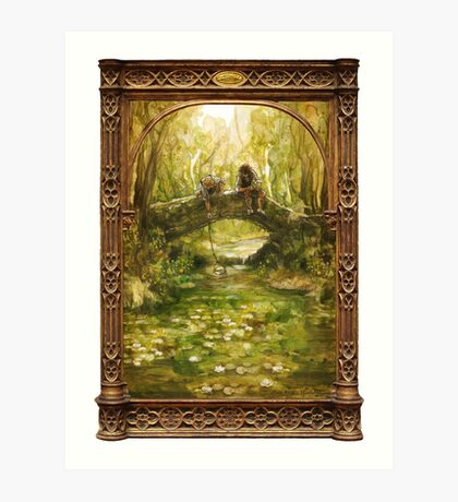 Shire Bridge Art Print