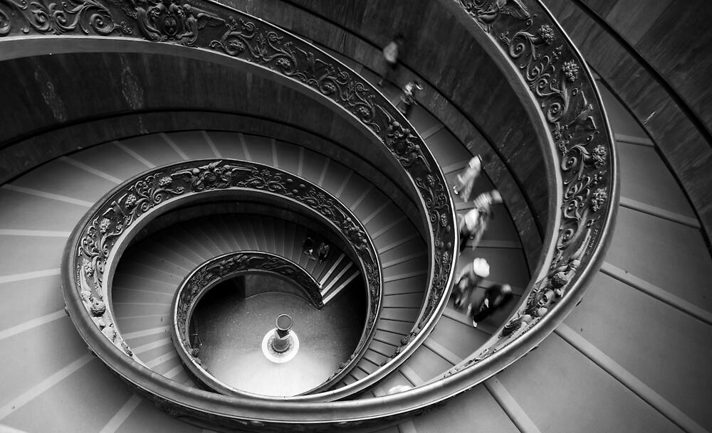 Vatican Stairs by noelani