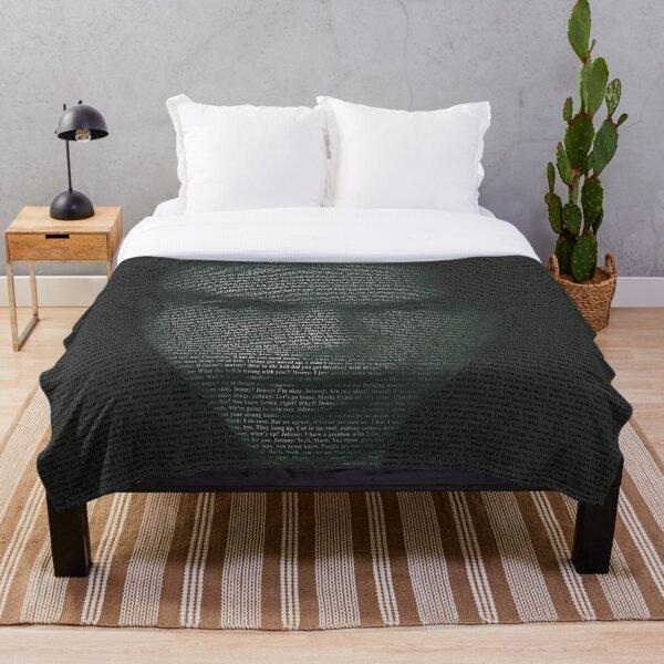 The Room Script in Full Throw Blanket