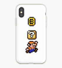 Super Bitcoin 8-bit iPhone Case