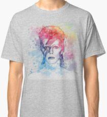 Bowie Aqua Classic T-Shirt