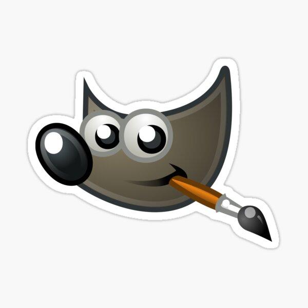 GIMP Sticker