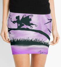 Ethereal Purple Fairy Mini Skirt