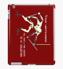 General Grievous - Your lightsabers will make a fine addition to my collection iPad Case/Skin