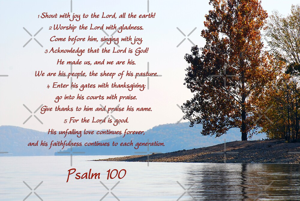 Psalm 100 by lightman07