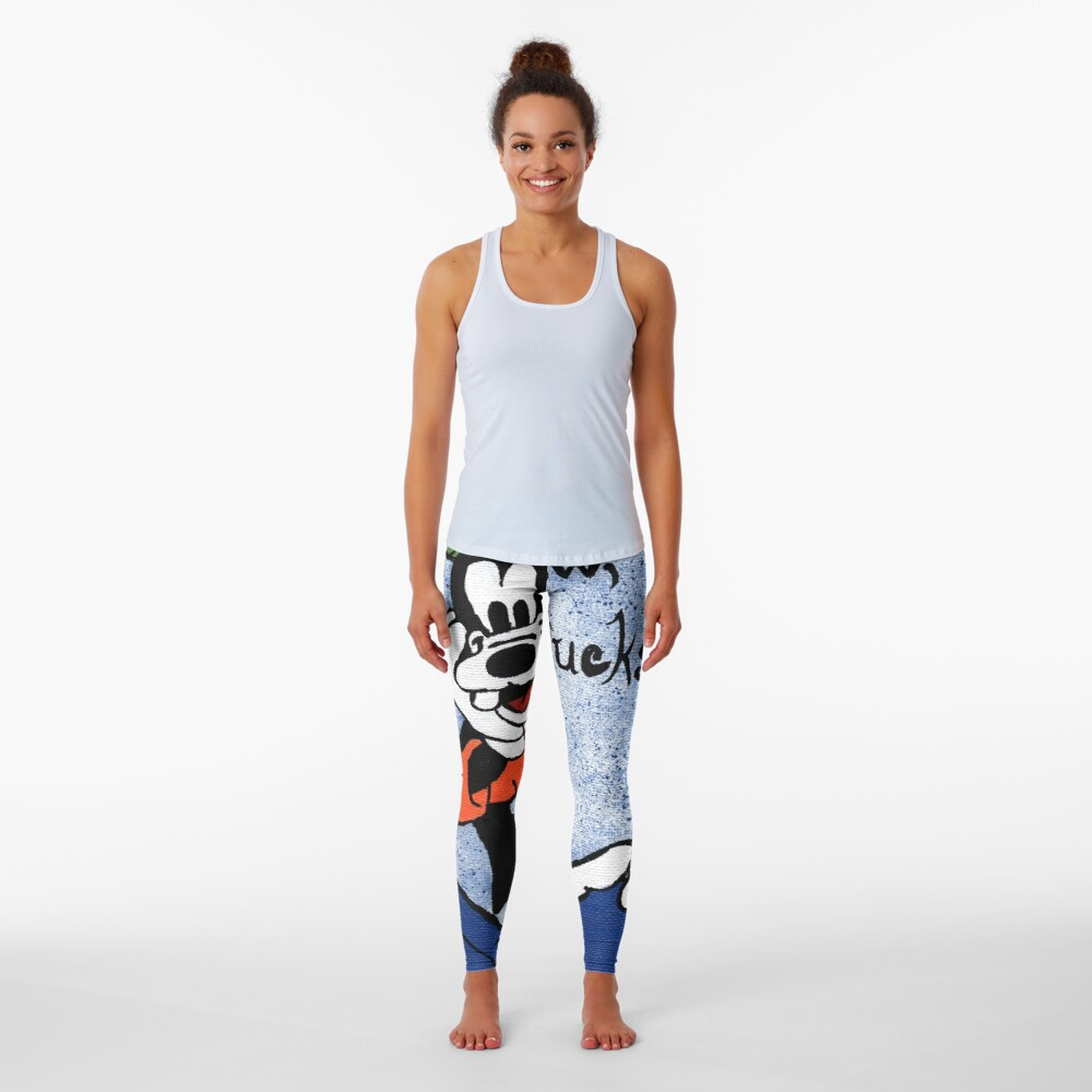 Goofy Painting Leggings