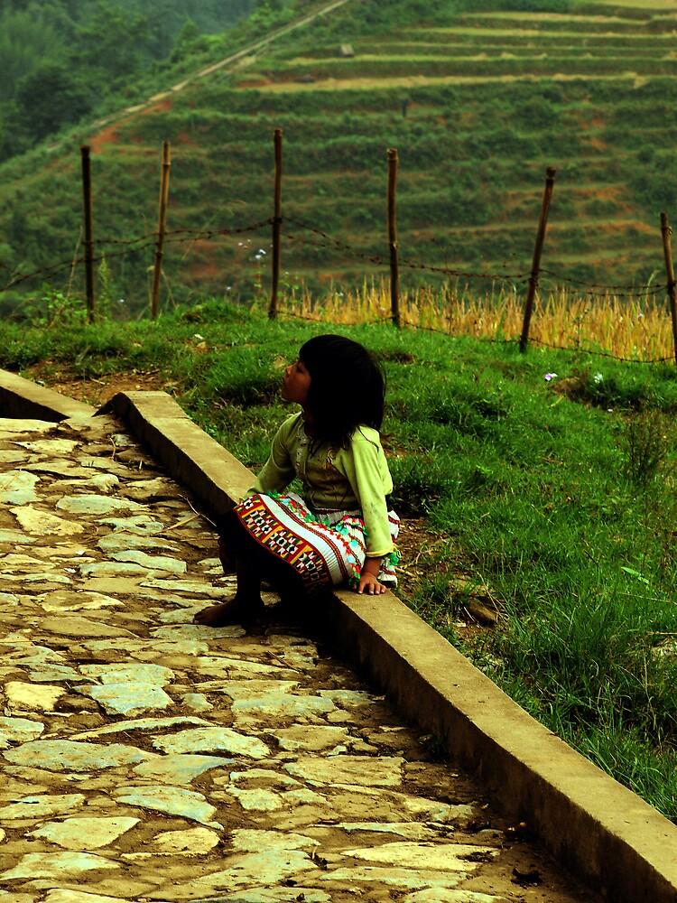 Little Girl by DavidCThomson