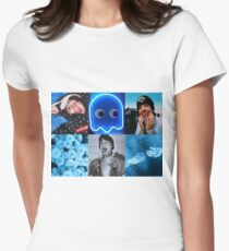 Lil Xan Blue Aesthetic Women's Fitted T-Shirt