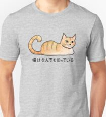 Cats Know Everything - Japanese T-Shirt
