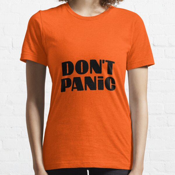 Don't Panic -  Hitchhiker's guide to the galaxy Essential T-Shirt